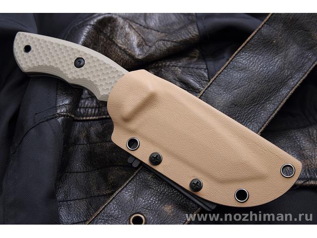 Mr.Blade нож Aldo сталь Aus-8 stonewash, рукоять G10 tan