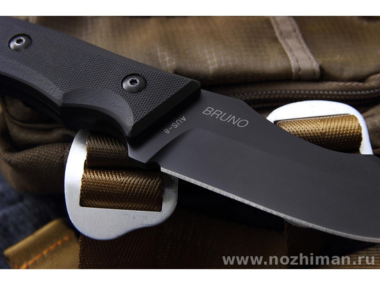 Mr.Blade нож Bruno сталь Aus-8, рукоять G10 black
