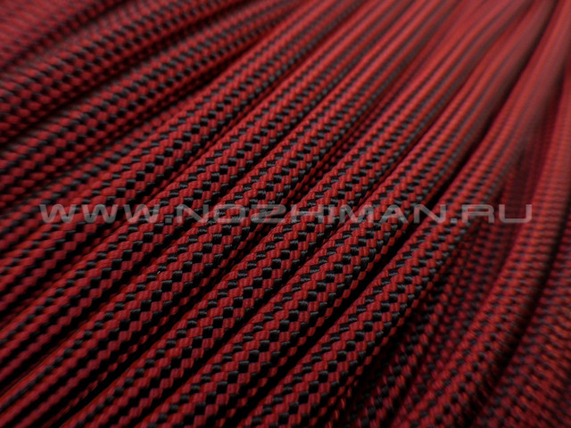 Paracord 550 Red Stripes
