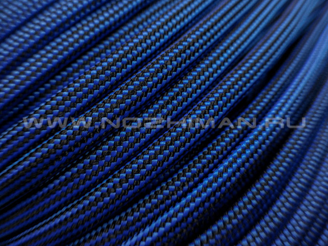 Paracord 550 Electric Blue Stripes
