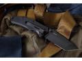 "Нож ""Otava"" 8Cr14Mov Black Serration"