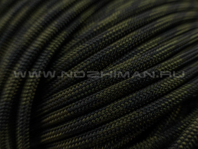 Paracord 550 Black Forest