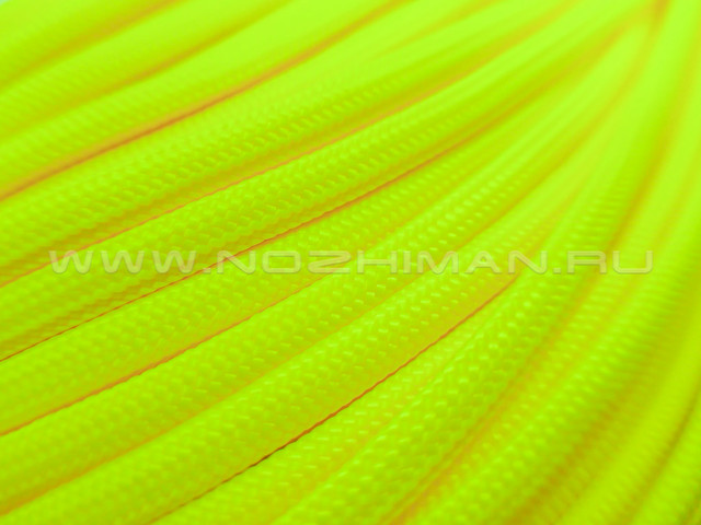 Paracord 550 Neon Yellow