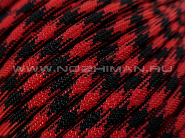 Paracord 550 Black & Red