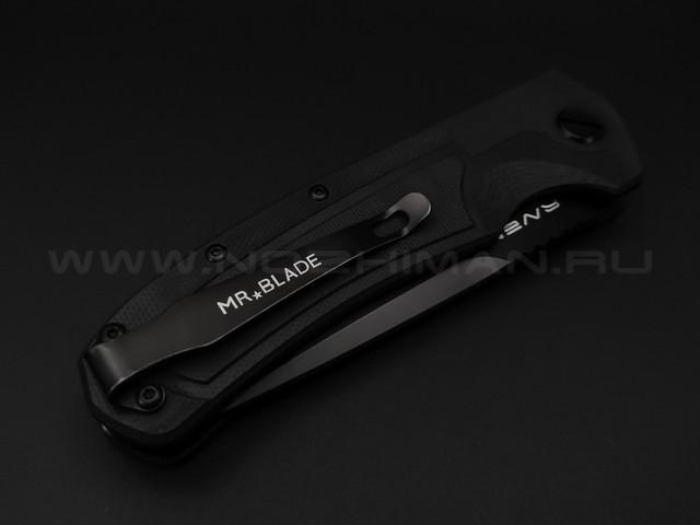 Mr.Blade нож Raven Black сталь D2, рукоять G10