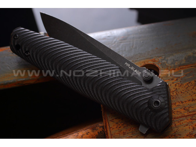 Mr.Blade нож Rift сталь D2 blackwash, G10 black
