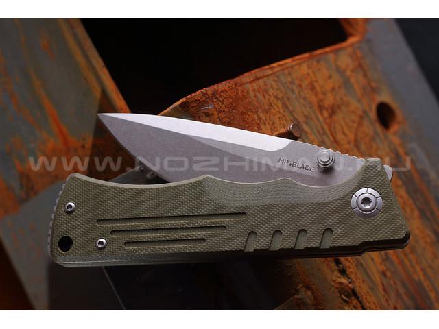 Mr.Blade нож Split сталь D2, рукоять G10 oliva