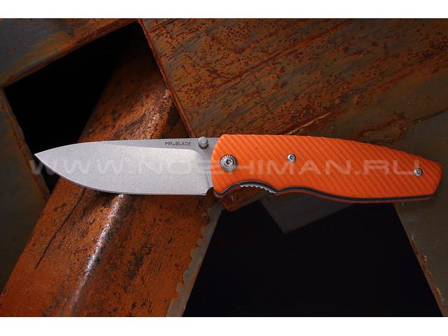 "Нож ""Zipper"" D2 orange"