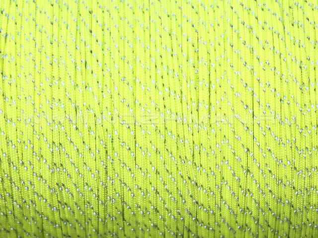 Minicord Reflective Neon Yellow