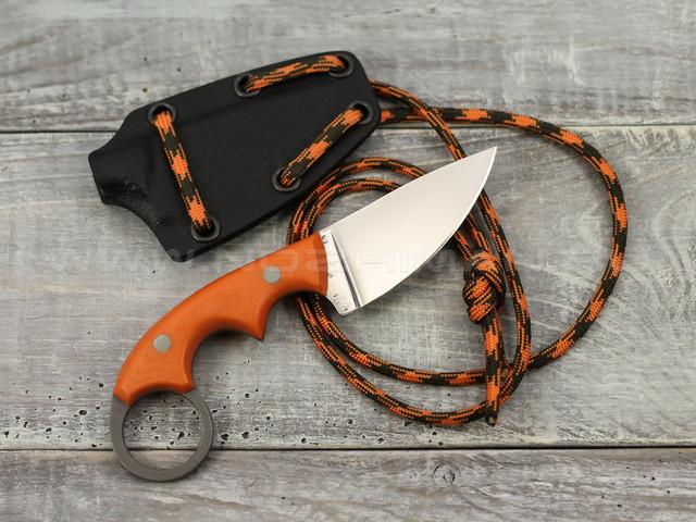 """Нож """"Шейный-2"""" K340, orange G10"""