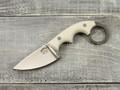 """Нож """"Шейный-2"""" K340, white G10"""