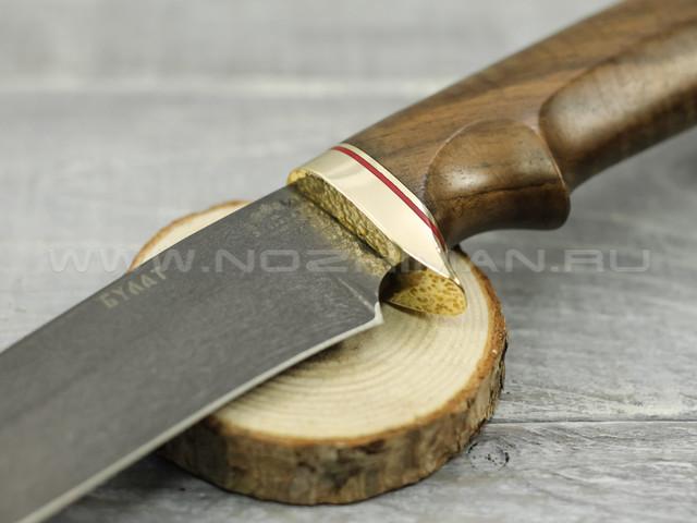 """Нож """"Судак"""" Булат, орех"""