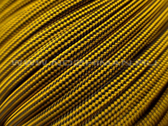 Paracord 550 Goldenrod Stripes