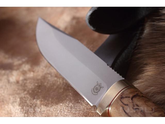 "Нож ""Оцелот"" Bohler N690, карельская береза"