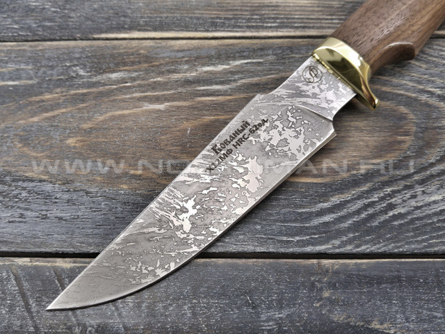 """Нож """"Ирбис-С"""" Х12МФ, орех"""