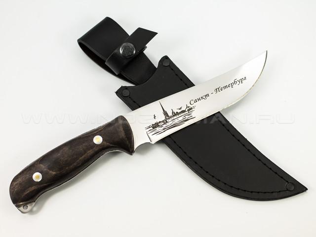 "Нож ""Сафари"" 65Х13 СПб"
