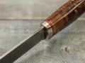 "Нож ""Клык"" CPM S90V, стаб. карельская береза"