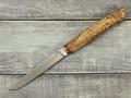 """Нож """"Шило"""" N690, карельская береза"""