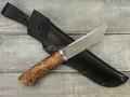 """Нож """"Клык"""" CTS-XHP, карельская береза (2)"""
