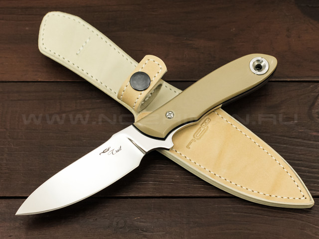 "Нож ""Trail"" M390, G10 tan"
