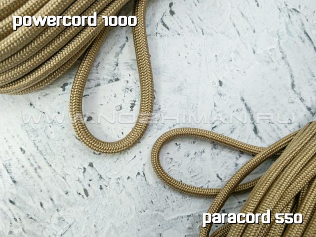 Powercord 1000 Tan