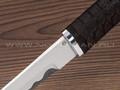 "Нож ""Самурай"" Х12МФ, граб, деревянные ножны"