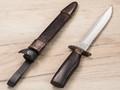 """Нож """"НР-40"""" черный, 65Х13, деревянные ножны"""