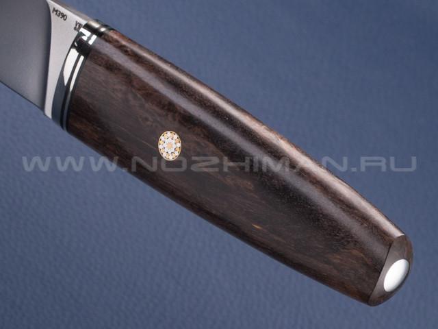 """Нож """"Скандик"""" M390, карельская береза"""