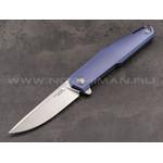 Mr.Blade нож Lance сталь M390, рукоять Titanium Blue