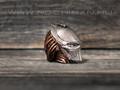 """Бусина """"Хищник"""" бронза, съемная маска"""