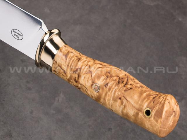 """Нож """"Рысь"""" Bohler N695, карельская береза"""