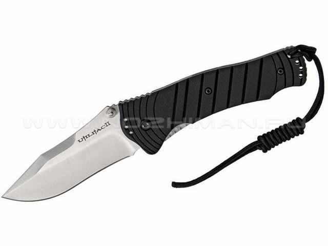 Нож Ontario Utilitac 2 Joe Pardue Plain Satin 8908 сталь Aus-8 рукоять Zytel