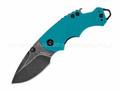 Нож Kershaw Shuffle Teal 8700TEALBW сталь 8Cr13MoV рукоять GFN