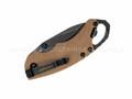 Нож Kershaw Shuffle II Tan 8750TTANBW сталь 8Cr13MoV рукоять GFN