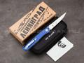 Нож Mr.Blade Astris Blue (Автограф Сергея Шнурова)