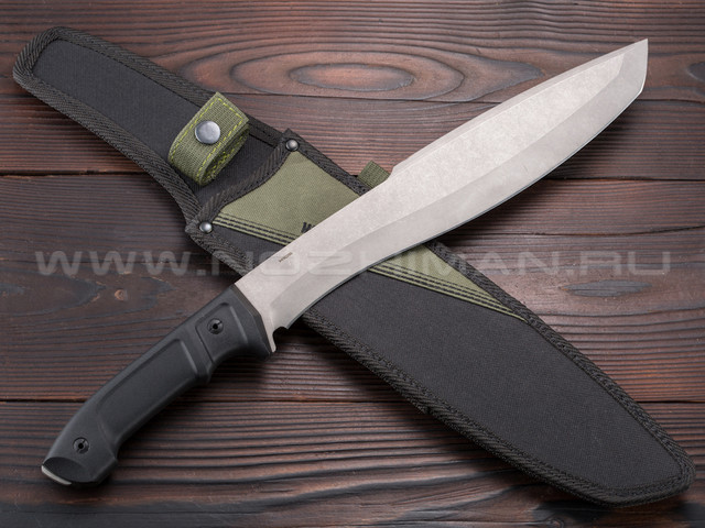 Mr.Blade мачете Yeti сталь X105 stonewash, рукоять Kraton