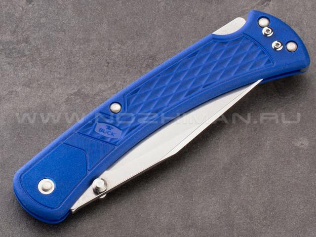 Buck 110 Slim Select Blue 0110BLS2 сталь 420HC рукоять GFN