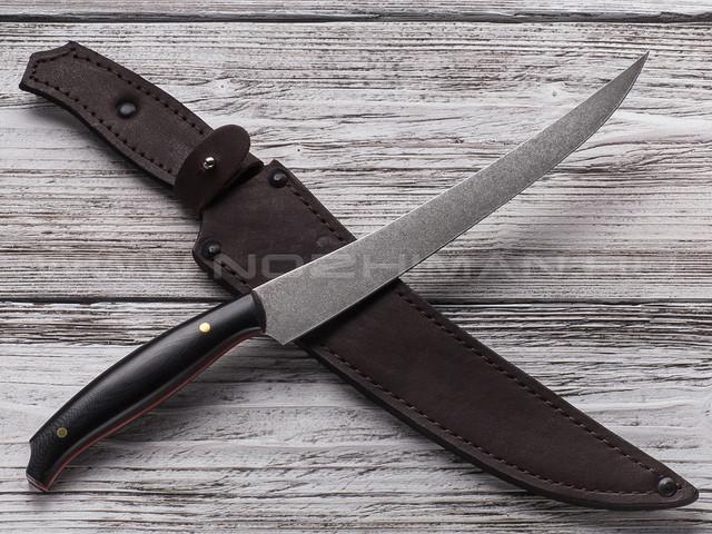 """Нож """"Филейный-БН"""" сталь Булат, рукоять G10"""