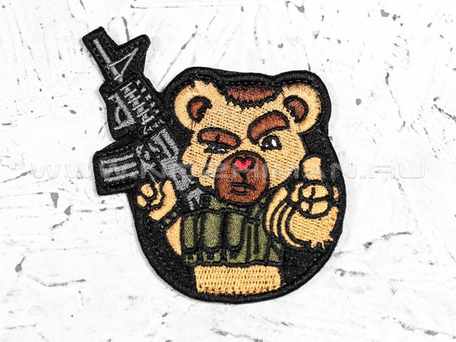 "Патч П-128 ""Мишка с пушкой"""