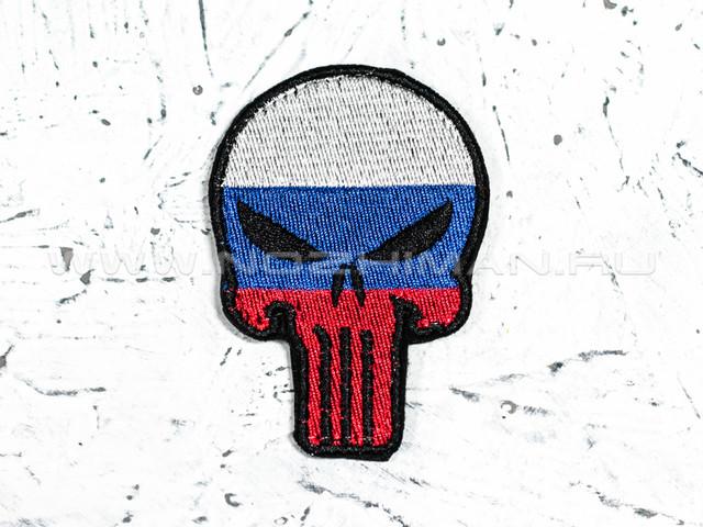 """Патч П-114 """"Каратель флаг РФ"""""""