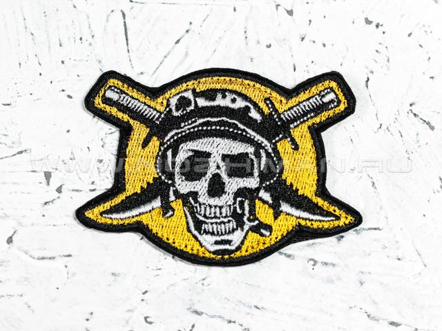 """Патч П-88 """"Солдат удачи"""" желтый"""