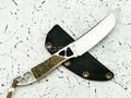 """Нож """"Ножик"""" N690, бронза, эмаль"""