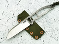 "Нож ""Папай"" N690, kydex olive"