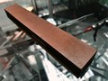 Доска для правки ножей и опасных бритв, кожа и замша