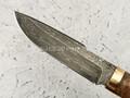"""Нож """"Фартовый"""" дамасская сталь, рукоять березовый сувель (Федотов А. В.) 102М39"""