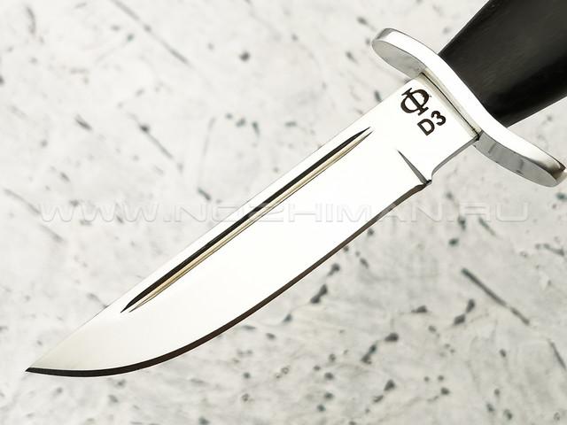 """Нож мини """"НР-40"""" сталь D3, рукоять граб (Федотов А. В.) 119ДЭ01"""