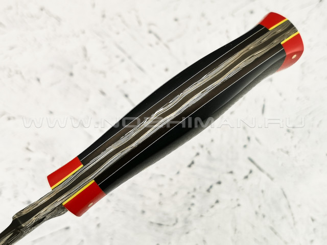 "Нож ""Судак"" дамасская сталь, G10 (Федотов А. В.) 022М13"