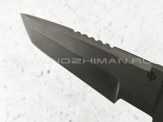 """Нож """"Японский"""" сталь Р12М3К5Ф2-МП, рукоять падук (Федотов А. В.)"""