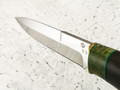 """Нож """"Фартовый"""" сталь D3, рукоять граб (Федотов А. В.) 102ДЭ03"""
