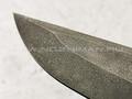 "Нож ""Кобзон"" сталь ХВ5, рукоять корень ореха, рог лося (Тов. Завьялова)"